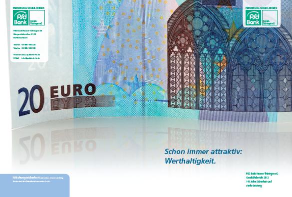 Neuer Geschäftsbericht für die PSD Bank