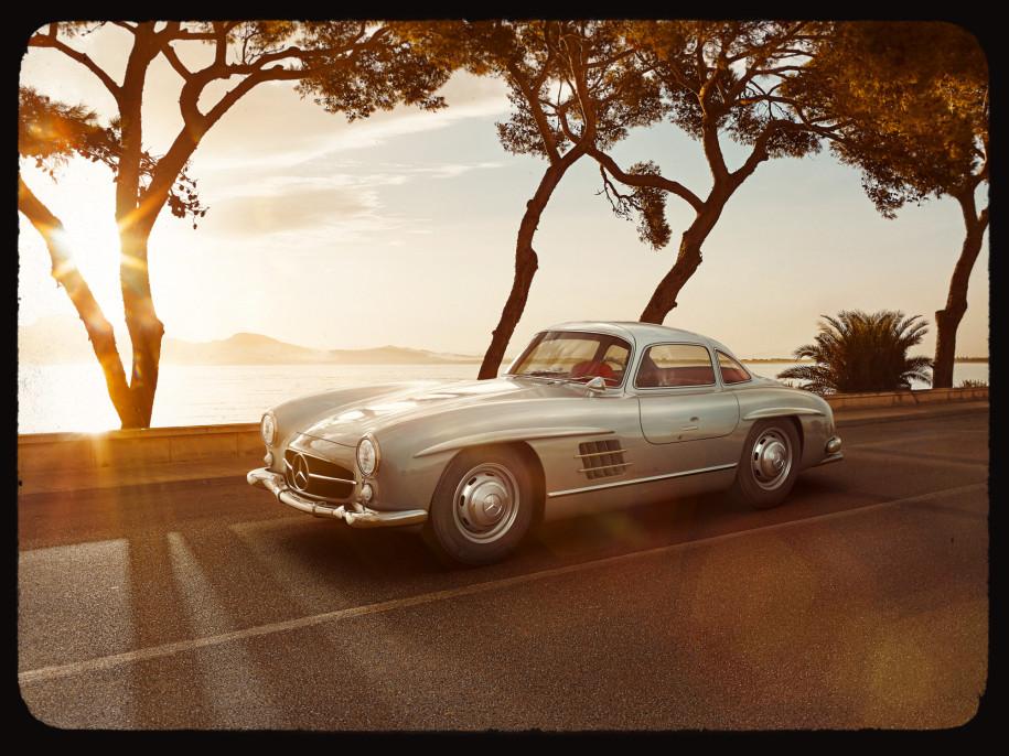Zeitmaschine für Mercedes-Benz